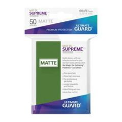 SUPREME UX SLEEVES STANDARD SIZE MATTE GREEN (50)