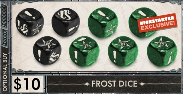 Death May Die: Frost Dice