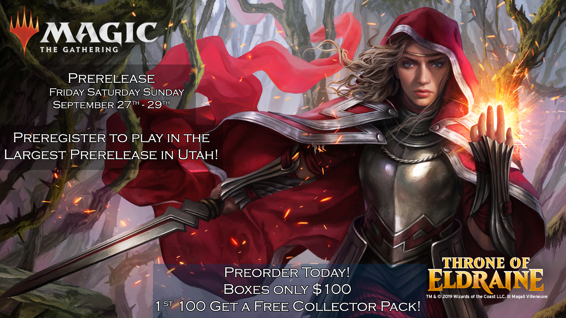 Friday Midnight Prerelease - WIN A BOX!