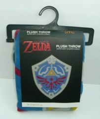 Legend of Zelda Shield Plush Throw