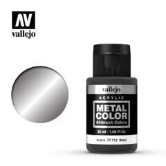 Vallejo Acrylic - Metal Color - Steel