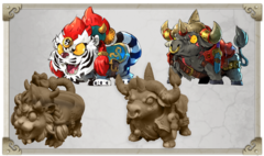 Arcadia Quest Mount Pack 2: Samson and Baron