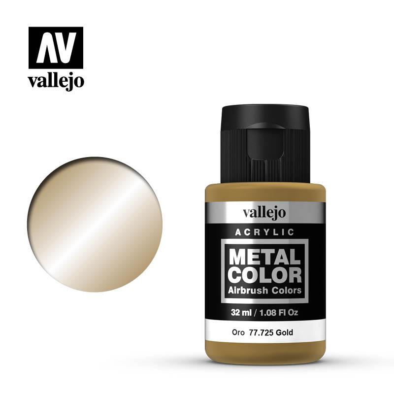 Vallejo Acrylic - Metal Color - Gold