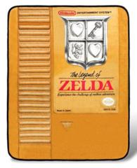 Zelda Gold Cartridge Plush Throw