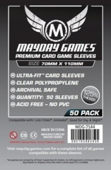 Mayday Games Premium Sleeves 70 mm x 110 mm (50 ct)