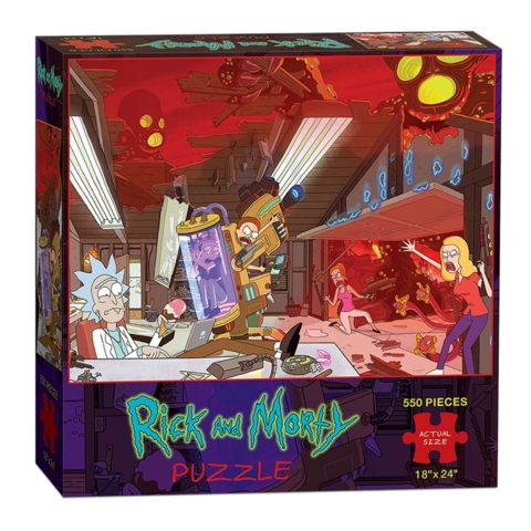 Rick and Morty Oblivion Puzzle