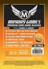Mayday Games Premium Sleeves 54 mm x 80 mm (50 ct)