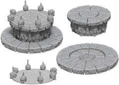 WizKids Deep Cuts Unpainted Miniatures: W5 Magic Dias