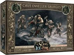 A Song of Ice & Fire Tabletop Miniatures Game: Free Folk Cave Dweller Savages Unit Box