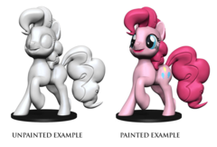 My Little Pony Deep Cuts Unpainted Miniatures: Rainbow Dash