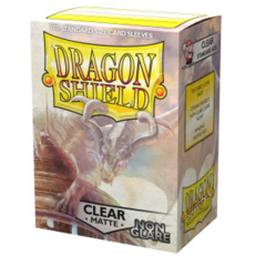 Dragon Shield Matte: Non-Glare Sleeves - Clear