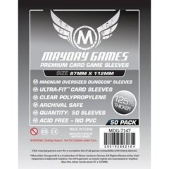 Mayday Games Premium Sleeves 87 mm x 112 mm (50 ct)