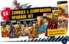 Zombicide 2nd Edition: Zombies & Companions Upgrade Kit