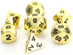 Classic Shiny Gold Die Hard Dice