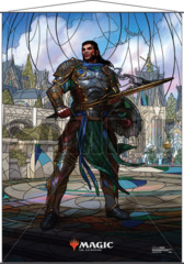 Magic the Gathering: Stained Glass Wall Scroll - Gideon
