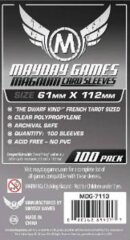 Mayday Games Sleeves 61 mm x 112 mm (100 ct)