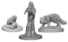 Pathfinder Battles Unpainted Minis - Familiars