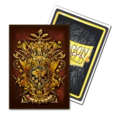Dragon Shields: (100) Brushed Art Sleeves - General Vicar Coat of Arms