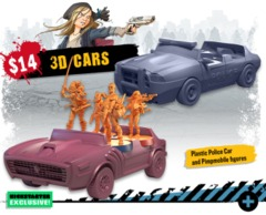 Zombicide 2nd Edition: 3D Cars