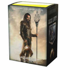 Dragon Shield Sleeves: Matte Art: Justice League Aquaman 100 ct
