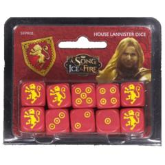A Song of Ice & Fire: House Lannister Dice