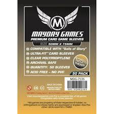 Mayday Games Premium Sleeves 50 mm x 75 mm (50 ct)