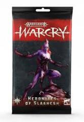 Warcry: Hedonites of Slaanesh Card Pack