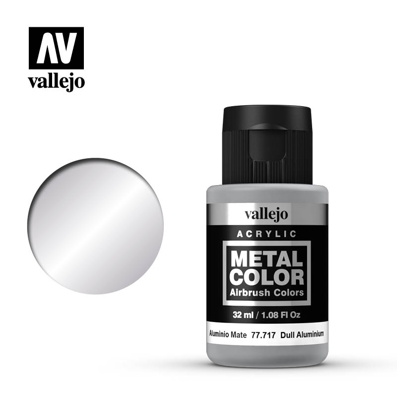 Vallejo Acrylic - Metal Color - Dull Aluminium