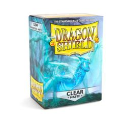 Dragon Shields: Matte Clear (100)
