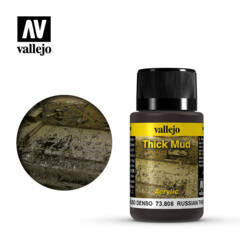 Vallejo Acrylic - Thick Mud - Russian Mud