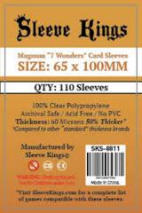 Sleeve Kings Card Sleeves: 65 x 100 mm 110 count