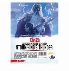 Storm King's Thunder - DM Screen