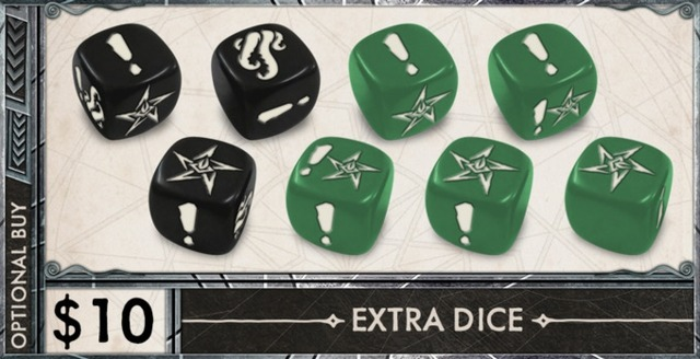Death May Die: Extra Dice