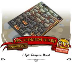 Munchkin Dungeon: Epic Board