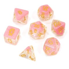 Cherry Blossom Snowglobe - RPG Dice Set