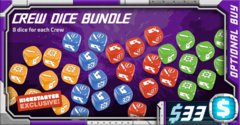 Starcadia Quest: Crew Dice Bundle