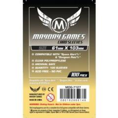 Mayday Games Sleeves 61 mm x 103 mm (100 ct)