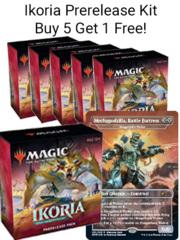 Love Your LGS Ikoria Prerelease Kit Buy 5, Get 1 Free + Mechagodzilla!