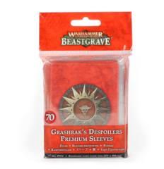 Warhammer Underworlds Beastgrave Grashrak's Despoilers Premium Sleeves (70)