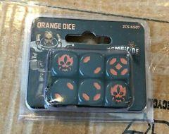 Zombicide Invader Orange Dice Set