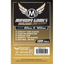 100 ct Magnum Card Sleeves (80 x 120mm)