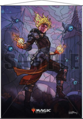 Magic the Gathering: Stained Glass Wall Scroll - Chandra
