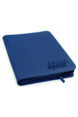 Ultimate Guard - 8-Pocket Zipfolio Xenoskin - Blue