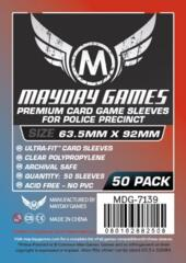 Mayday Games Premium Sleeves 63.5 mm x 92 mm (50 ct)