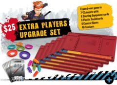 Zombicide 2nd Edition: Extra Players Upgrade Set