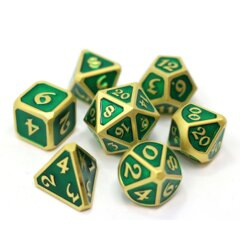 RPG Set - Mythica Satin Gold Emerald