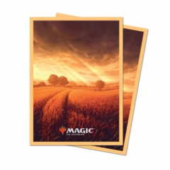 Ultra Pro: Magic the Gathering Deck Protector - Unstable Lands - Plains 100ct