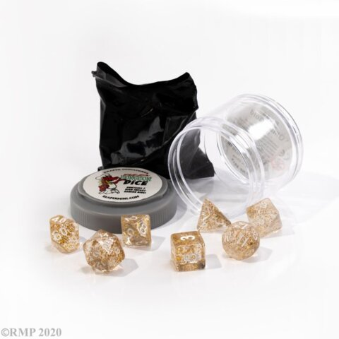 Pizza Dungeon Dice: Boss - Glitter Gold