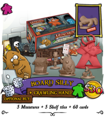 Munchkin Dungeon: Board Silly (Plus Crawling Hand Miniature)