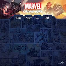 Marvel Champions - 1-4 Player Game Mat